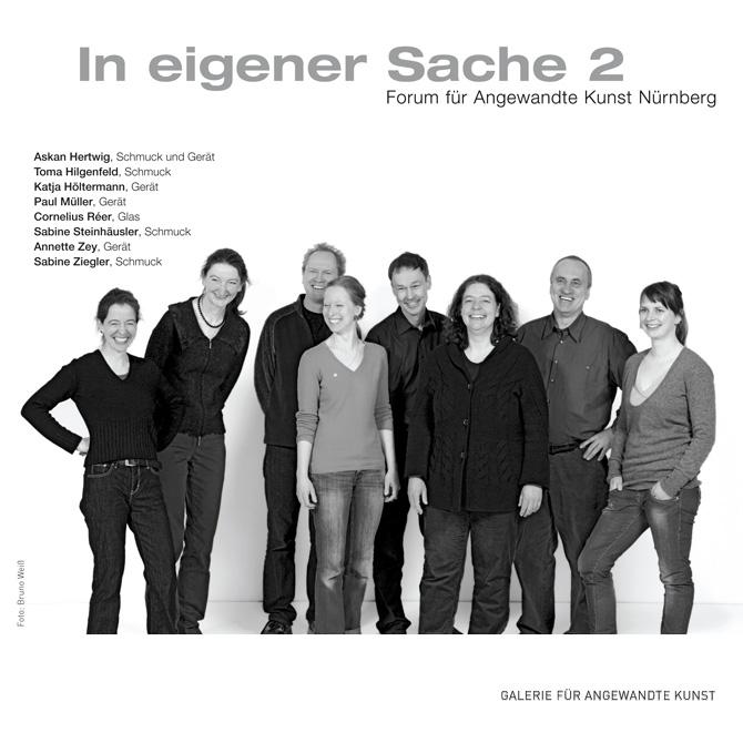 In eigener Sache 2, Galerie für Angewandte Kunst des Bayerischen Kunstgewerbevereins München