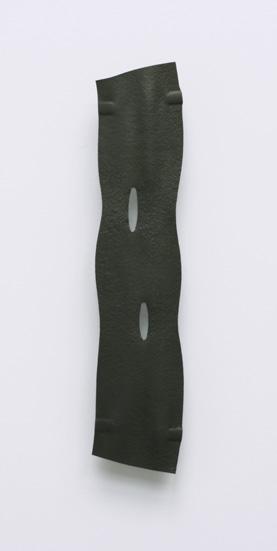 """Brosche, """"still/ 4"""" Kupfer schwarz rhodiniert"""