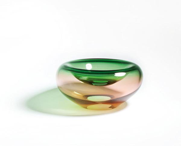 Doppelwandige Schale, Incalmotechnik, ø 28 cm